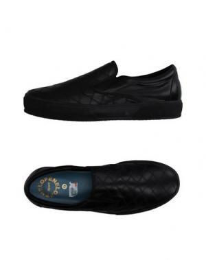 Низкие кеды и кроссовки PENELOPE. Цвет: черный
