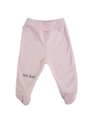 Ползунки NICE-KID. Цвет: розовый