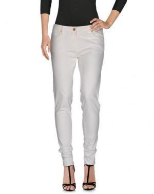 Джинсовые брюки SASS & BIDE. Цвет: белый