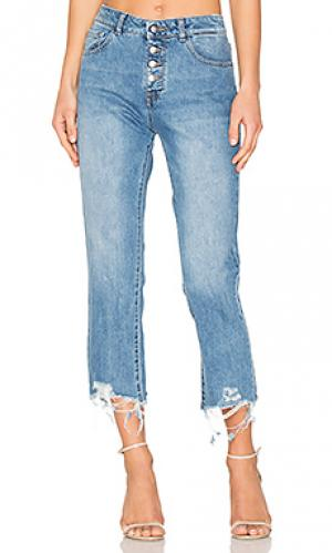 Прямые джинсы высокой посадки patti DL1961. Цвет: none