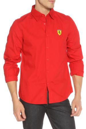 Рубашка Ferrari. Цвет: красный