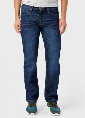 Утеплённые джинсы OSTIN. Цвет: синий