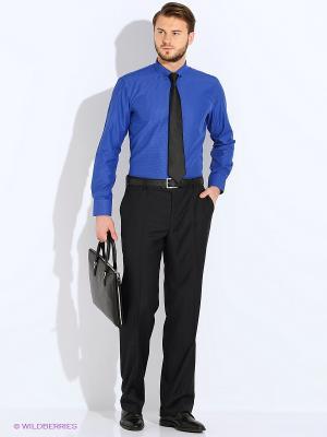 Рубашка PALMARY LEADING. Цвет: темно-синий, темно-фиолетовый, голубой