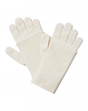 Перчатки Benetton. Цвет: белый