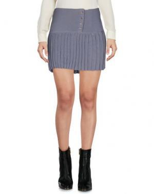 Мини-юбка AGATHA CRI. Цвет: серый