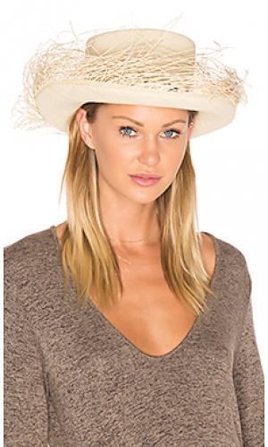 Шляпа tulum Valdez. Цвет: кремовый