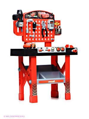 Игрушка Ремонтная мастерская тачки МакКуин Smoby. Цвет: красный, черный
