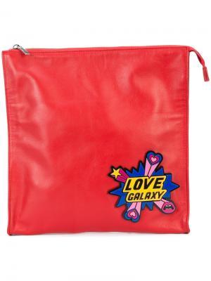 Клатч Love Galaxy Yazbukey. Цвет: красный