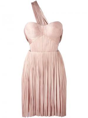 Платье Imman Maria Lucia Hohan. Цвет: розовый и фиолетовый