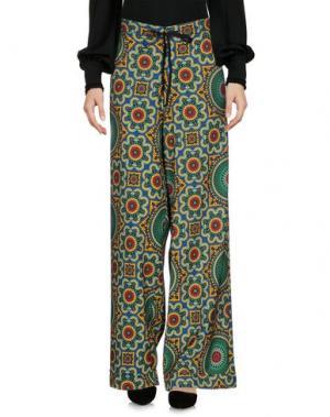 Повседневные брюки ULTRA'CHIC. Цвет: абрикосовый