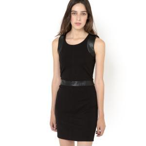 Платье без рукавов RENSHY SUD EXPRESS. Цвет: черный