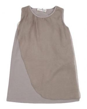 Платье LE PETIT COCO. Цвет: хаки