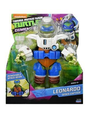 Черепашка ниндзя 28 см. Леонардо,  Измерение Х Playmates toys. Цвет: синий