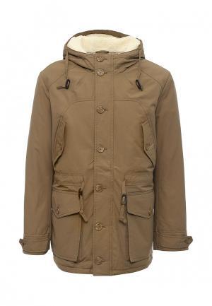 Куртка утепленная Tom Farr. Цвет: коричневый