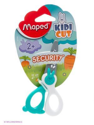 Ножницы, 12 см Maped. Цвет: бирюзовый