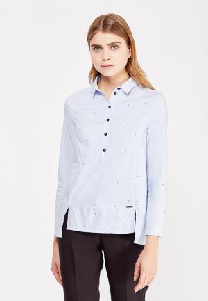 Блуза Profito Avantage. Цвет: голубой