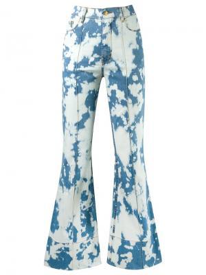 High waist flared jeans Amapô. Цвет: синий