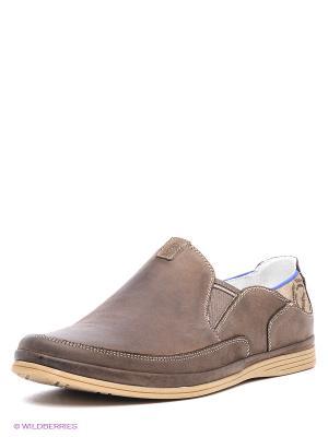 Туфли Goergo. Цвет: серо-коричневый