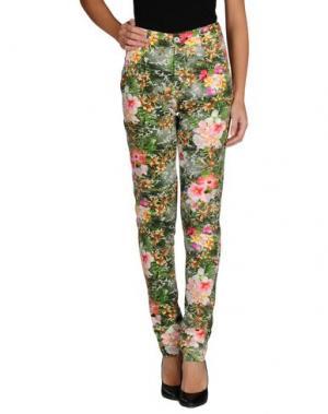 Повседневные брюки EUROPEAN CULTURE. Цвет: зеленый