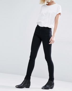 Weekday Супероблегающие джинсы. Цвет: кремовый