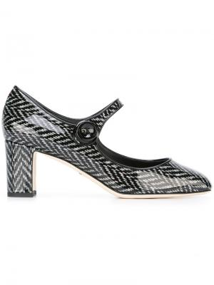 Туфли-лодочки Vally Dolce & Gabbana. Цвет: чёрный