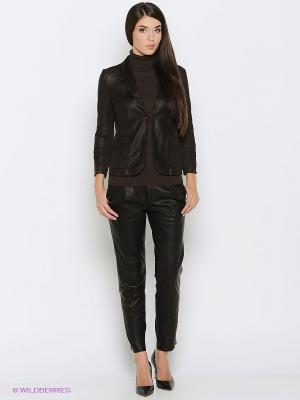 Куртка LUIGI FERRO. Цвет: коричневый