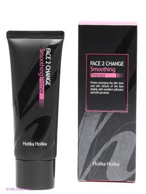 Увлажняющий и смягчающий праймер под макияж, натуральный бежевый, 35 мл Holika. Цвет: черный