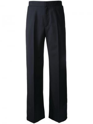 Укороченные костюмные брюки Astraet. Цвет: чёрный