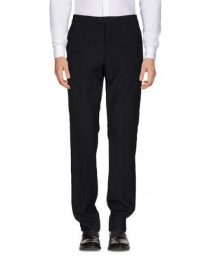 Повседневные брюки RAF SIMONS. Цвет: стальной серый