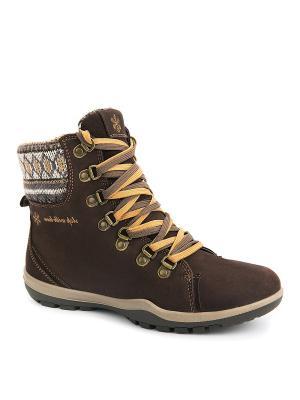 Ботинки S-TEP. Цвет: коричневый