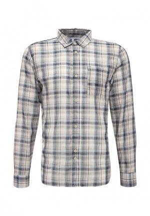 Рубашка Bellfield. Цвет: серый