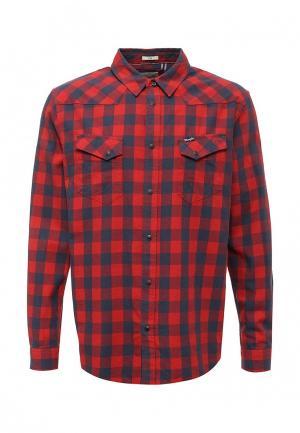 Рубашка Wrangler. Цвет: красный