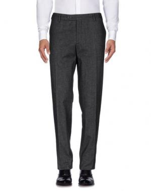 Повседневные брюки GERMANO. Цвет: стальной серый