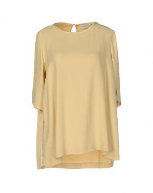 Блузка ANTONELLI. Цвет: желтый