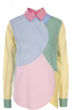 Блуза Tata Naka. Цвет: разноцветный