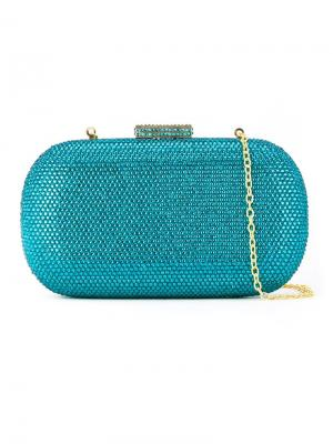 Embellished clutch bag Serpui. Цвет: синий
