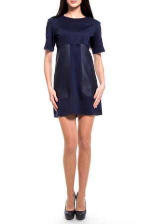 Платье Majaly. Цвет: темно-синий