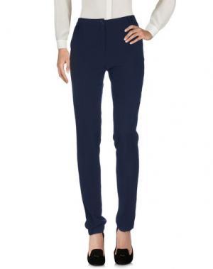 Повседневные брюки NIRÒ. Цвет: темно-синий