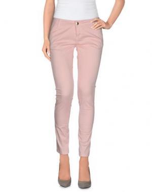 Повседневные брюки MICHAEL COAL. Цвет: розовый