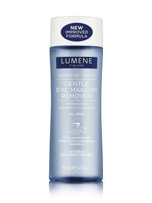 Деликатное средство для снятия макияжа с глаз  Sensitive Touch Lumene. Цвет: белый