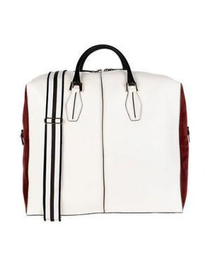 Дорожная сумка TOD'S. Цвет: белый