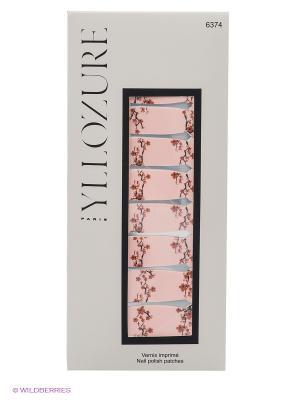 Лаковый стикер для ногтей Гламур , тон  74 ИЛЛОЗУР. Цвет: бледно-розовый, коричневый