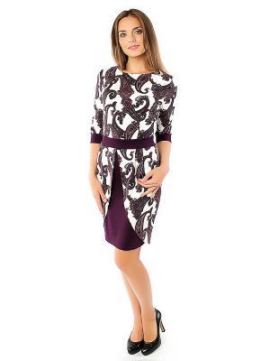 Платье Spicery. Цвет: фиолетовый
