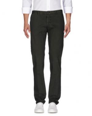Джинсовые брюки MAESTRAMI. Цвет: зеленый-милитари