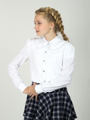 Блузка Shened. Цвет: белый