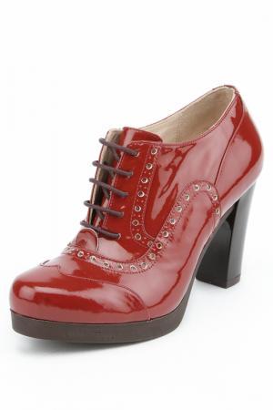 Ботинки Marco Rizzi. Цвет: терракотовый