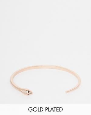 Eyland Браслет-змейка Montpellier. Цвет: розовое золото