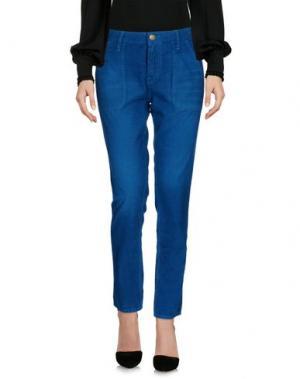 Повседневные брюки BA&SH. Цвет: цвет морской волны