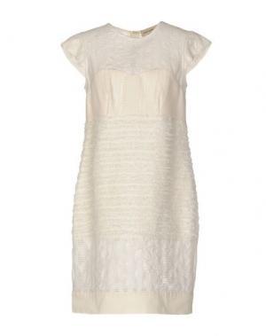 Короткое платье COAST WEBER & AHAUS. Цвет: слоновая кость
