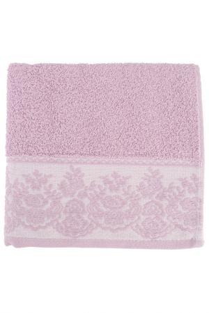 Полотенце махровое, 50х90 см BRIELLE. Цвет: пурпурный